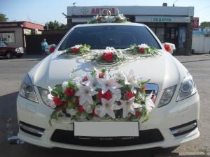 Свадебные машины, лимузины, украшение свадебных машин